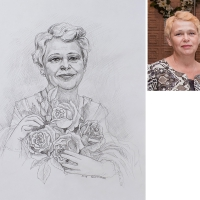 014. портрет на заказ Киров