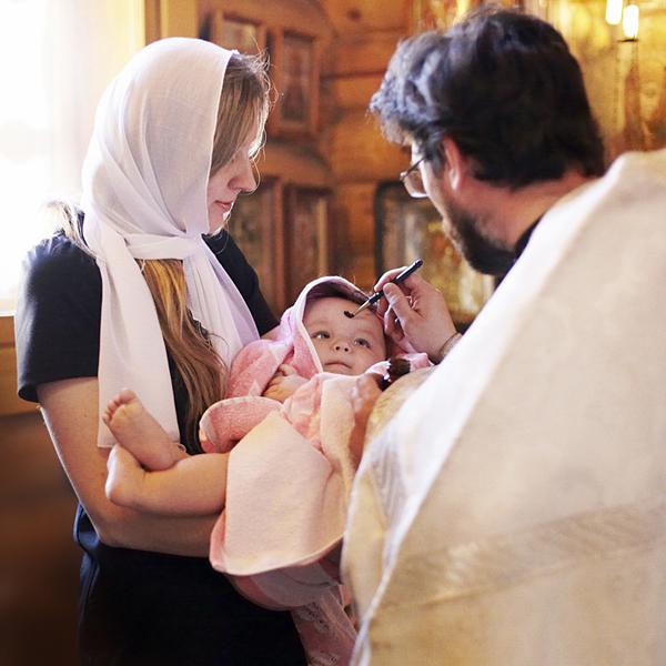 фотосъемка крещение Киров